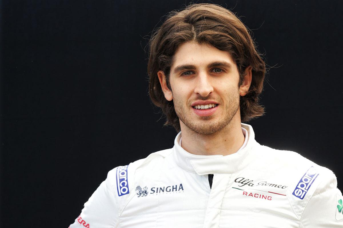 F1 | アントニオ・ジョビナッツィ(Antonio Giovinazzi)(アルファロメオ・レーシング) 2019年