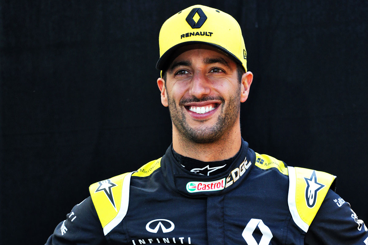 F1 | ダニエル・リカルド(Daniel Ricciardo)(ルノー) 2019年