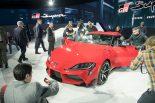 市販モデルの新型スープラはデトロイトショーでお披露目された