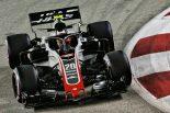 2018年F1第15戦シンガポールGP ケビン・マグヌッセン(ハース)