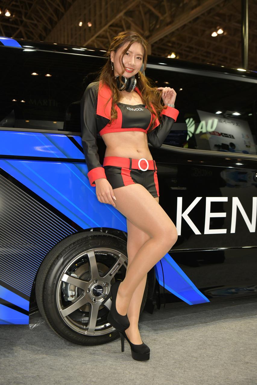東京オートサロン2019コンパニオンギャラリー<br>遠藤絵莉菜/KENWOOD