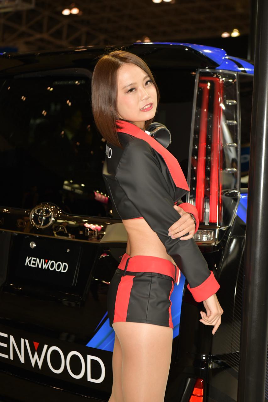東京オートサロン2019コンパニオンギャラリー<br>小鳥遊レイラ/KENWOOD