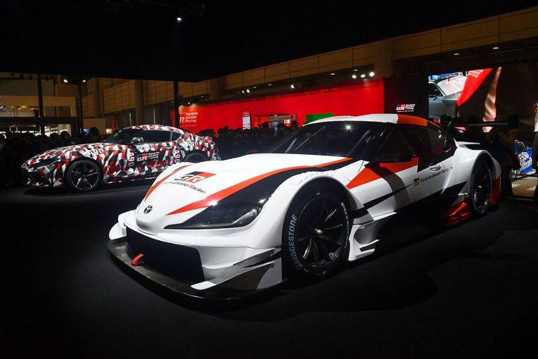 スーパーGT | オートサロン新車&新色ギャラリー(2):トヨタ・GRスープラ スーパーGTコンセプト