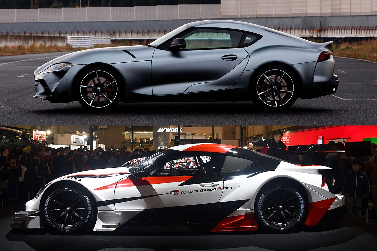 オートサロン新車&新色ギャラリー(2):GRスープラ スーパーGTコンセプト