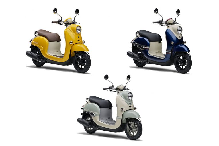 MotoGP | ヤマハの原付一種スクーター『Vino』に新カラー3色が登場。2月1日より発売