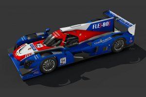 コア・オートスポーツが公開した54号車ニッサンDPiの2019年カラーリングイメージ
