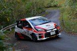 2018年シーズンの全日本ラリーに参戦したTGR Vitz GRMN Rally