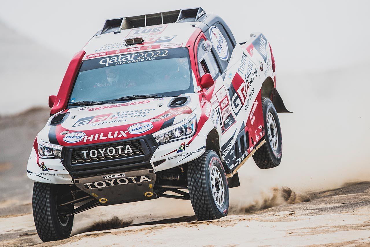 ダカールラリー:2019年大会でトヨタが初の総合優勝。ハイラックス駆るアル-アティヤが通算3勝目