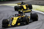 2018年F1第20戦ブラジルGP カルロス・サインツJr.、ニコ・ヒュルケンベルグ(ルノー)