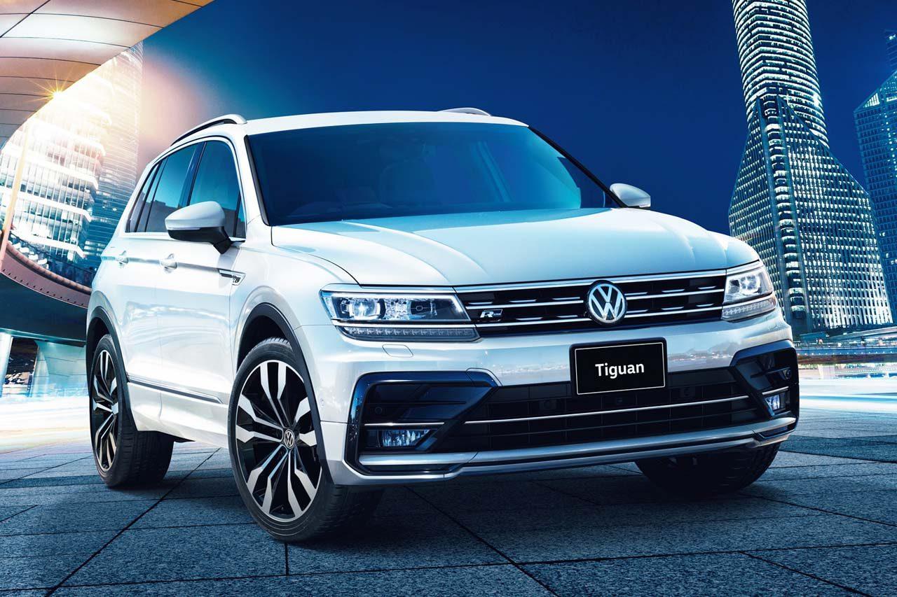 VWのコンパクトSUV『ティグアン』が仕様変更。セーフティパッケージを標準装備に