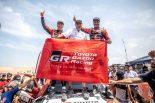 ラリー/WRC | 「約束を果たしてくれた」。トヨタのダカール初制覇に豊田章男社長が喜びのコメント