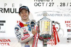 スーパーGT、スーパーフォーミュラの国内2冠を達成し2018年モータースポーツ顕彰を受賞した山本尚貴