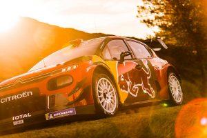 2019年シーズンのWRCを戦うシトロエンC3 WRC