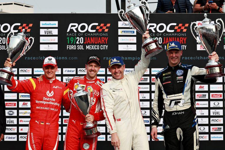 F1 | レース・オブ・チャンピオンズ:9度のル・マン勝者クリステンセン擁するチーム北欧がドイツを破って優勝