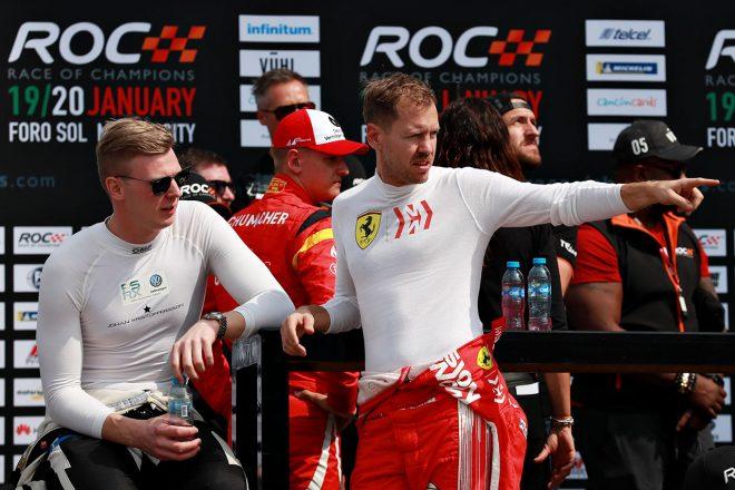 2019 レース・オブ・チャンピオンズに参戦したセバスチャン・ベッテル