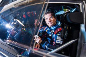 WRC第1戦モンテカルロに向けた事前テストに参加したセバスチャン・ローブ
