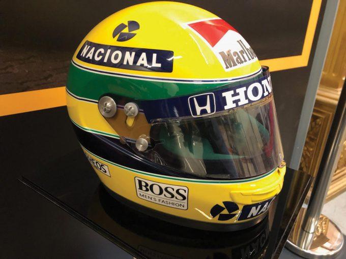 F1 | マクラーレンF1時代にセナが使用した実物のヘルメットがオークションに出品
