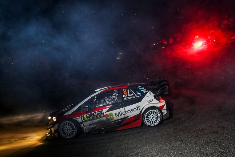 ラリー/WRC   【順位結果】2019WRC第1戦モンテカルロ SS2後