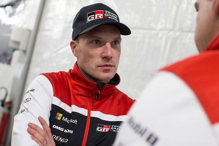 ラリー/WRC   SS1で出遅れたトヨタのラトバラ「走りに自信を持てずタイムを失った」/WRC第1戦モンテカルロ デイ1後コメント