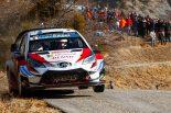 ラリー/WRC | WRCモンテカルロ:2日目、トヨタのタナクがパンクで後退。シトロエン移籍初戦のオジエ首位