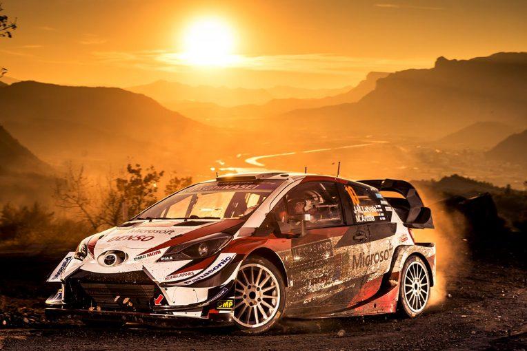ラリー/WRC | WRCモンテカルロ:トヨタ、3日目の全SSでワン・ツー。優勝争いはオジエとヌービルが4.3秒差