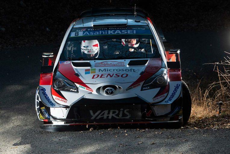 ラリー/WRC | WRCモンテカルロ:トヨタ、3年連続の開幕表彰台。0.4秒差の優勝争い制しオジエが開幕戦6連覇