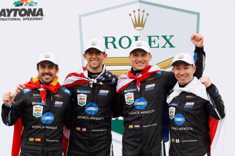 ル・マン/WEC | 小林可夢偉が日本人4人目のデイトナ24時間制覇。アロンソとともに10号車キャデラックに栄冠もたらす