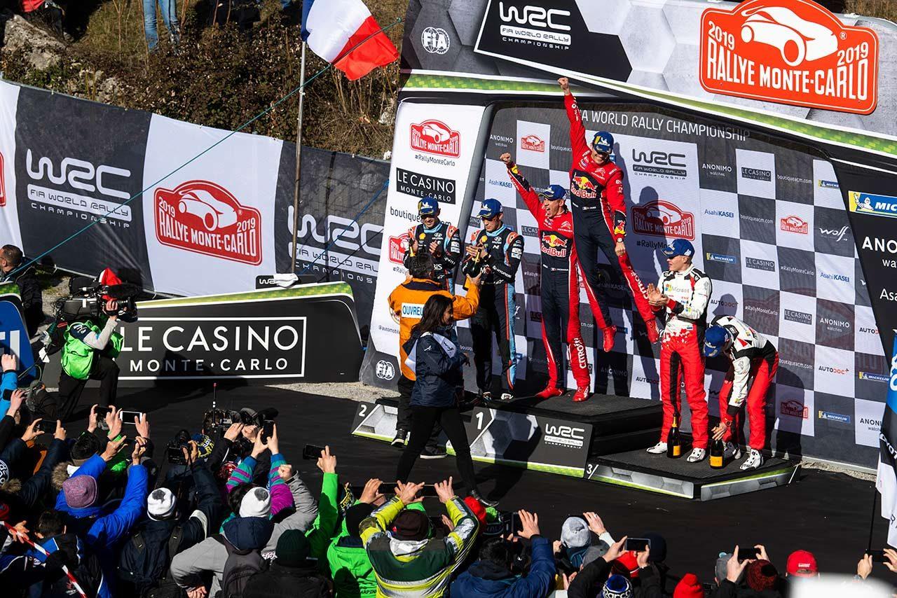 2019WRC第1戦モンテカルロ
