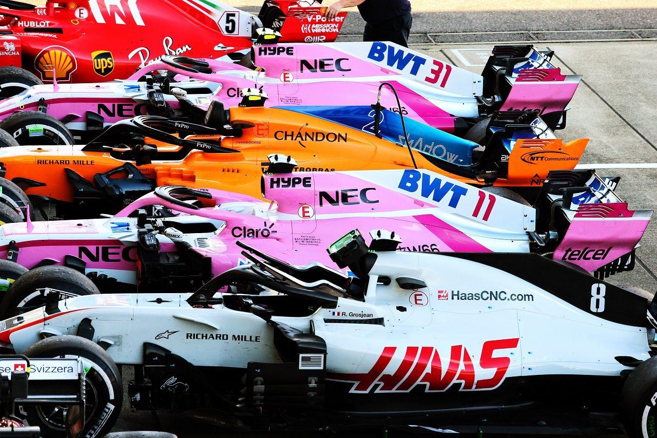 2018年F1日本GP パルクフェルメ