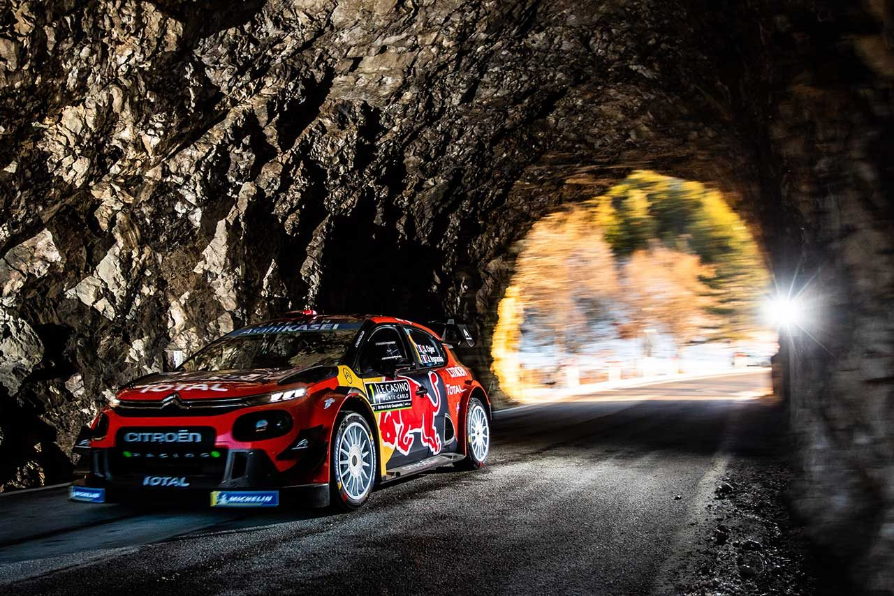 WRC:第1戦モンテカルロで通算100勝達成のシトロエン、信頼性に不安残す