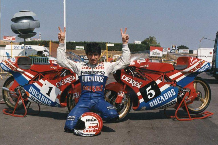 MotoGP | 新たにふたりがMotoGPレジェンドに。チームアスパーオーナー、マルティネスと1980年代4冠ドルフリンガー