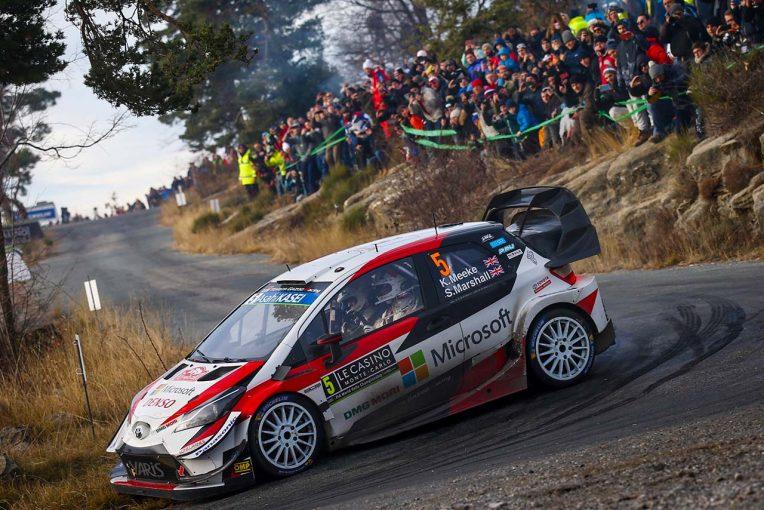 ラリー/WRC | WRC:トヨタとの初戦を終えたミーク、ヤリスWRCは「ラリーカーのなかで最高の部類」