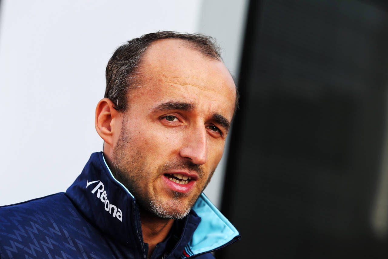 2018年F1第13戦ベルギーGP ロバート・クビカ