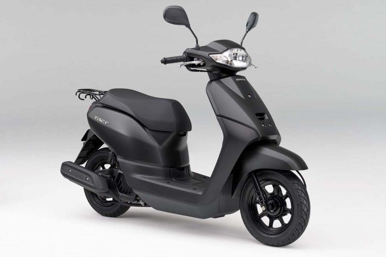 ホンダ、50ccスクーター『タクト』シリーズに新色追加。全6色展開で2月15日発売へ | MotoGP | autosport web