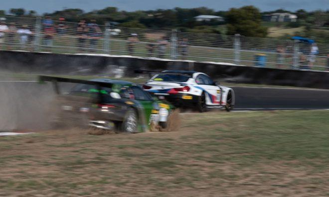 540号車ポルシェは『ザ・チェイス』付近でコースアウトした