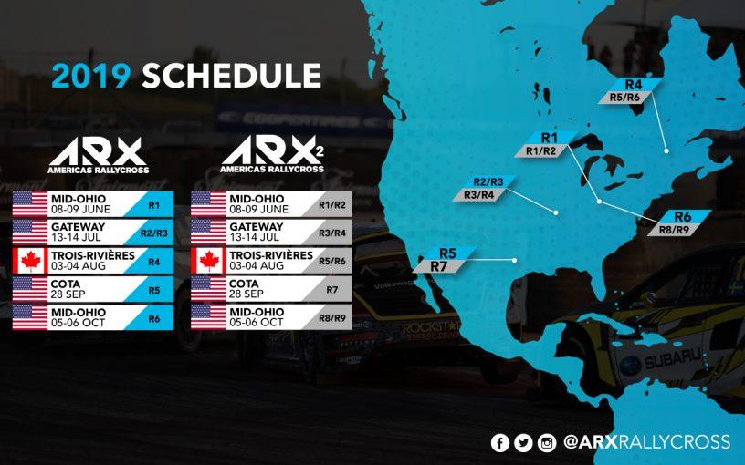 海外レース他 | 初代王者がスバルへ移籍する北米主体『ARXアメリカズ・ラリークロス』、2019年は全5大会6戦