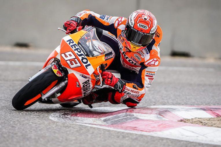MotoGP | MotoGP:マルケス、レプソルカラーのホンダNSF100で術後初ライド。「どこに痛みがあるか確認できた」