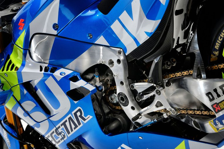 MotoGP   MotoGP:スズキ2019年型GSX-RRは新スペックのエンジンとシャシーを採用。スタジオショットも公開に