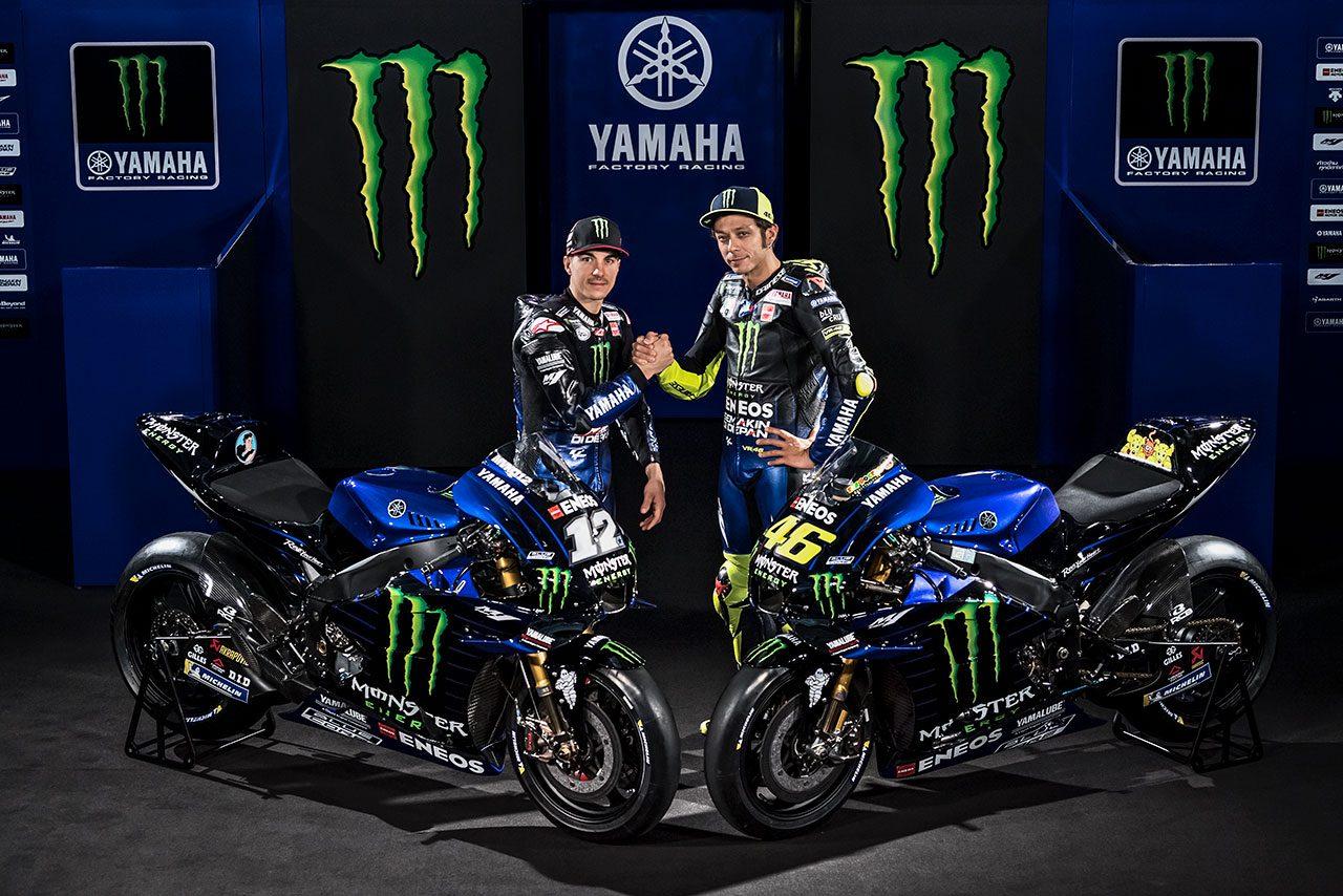 2019年シーズンの体制発表を行ったモンスターエナジー・ヤマハMotoGP