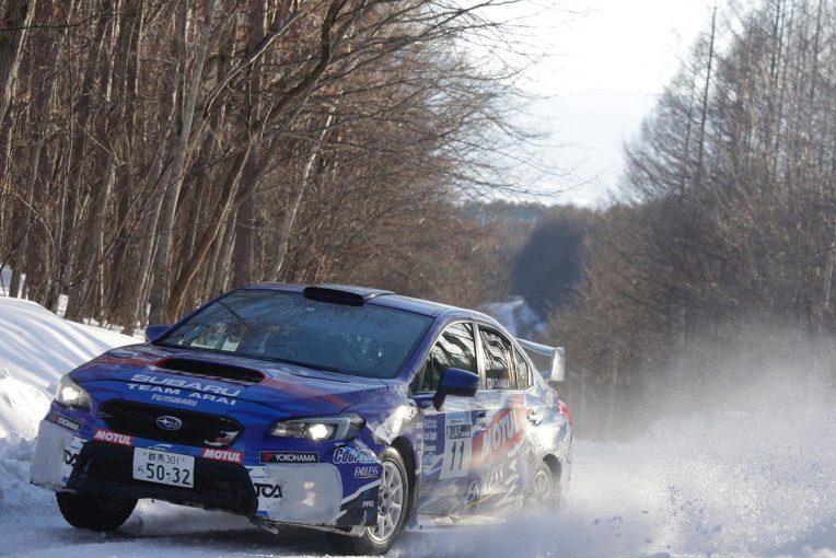 ラリー/WRC | 全日本ラリー:2019年シーズン第1戦で新井敏弘が逆転優勝。スバル表彰台独占