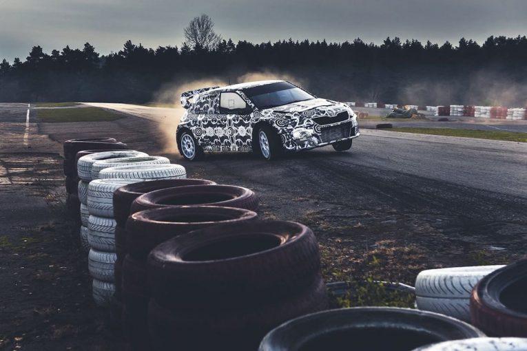 ラリー/WRC | 世界ラリークロス:2019年登場のシュコダ車開発にオストベルグやダカール覇者アル-アティヤが参加