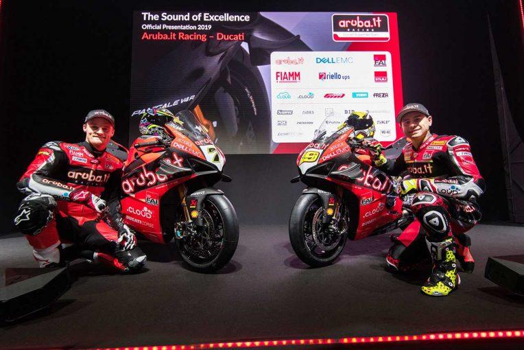 MotoGP | ドゥカティが2019年SBKの参戦体制を発表。最新マシンの『パニガーレV4 R』をアンベイル
