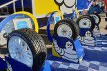WRC世界ラリー選手権第1戦モンテカルロ ミシュランエリアで展示されていたタイヤ