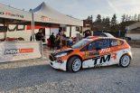 WRC世界ラリー選手権第1戦モンテカルロ 勝田貴元 WRC2(フォード・フィエスタR5)