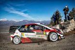 WRC世界ラリー選手権第1戦モンテカルロ ヤリ-マティ・ラトバラ(トヨタ・ヤリスWRC)