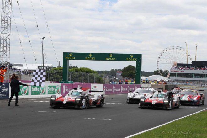 トヨタは2018年のル・マン24時間で初の総合優勝を飾った