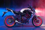 MotoGP | ヤマハ、スポーツバイクの『MT-07 ABS』、『MT-03』、『MT-25』に新色を追加