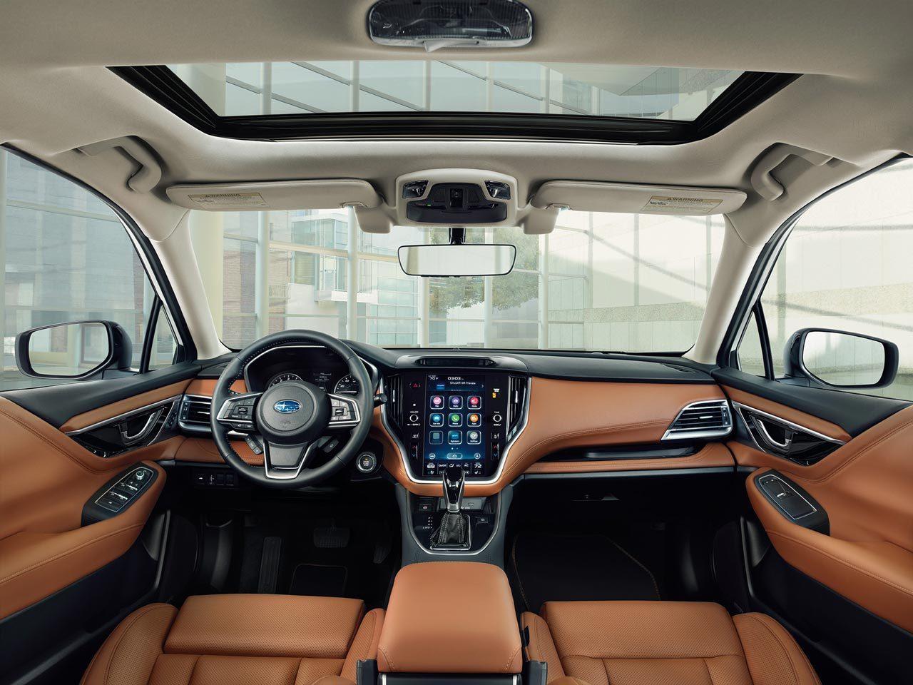 新型スバル・レガシィ セダンが世界初公開。2.4L直噴ターボ、グローバルプラットフォーム採用