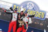 2017年のWRC第2戦を制したヤリ-マティ・ラトバラ。トヨタにとってはシリーズ復帰2戦目での快挙となった