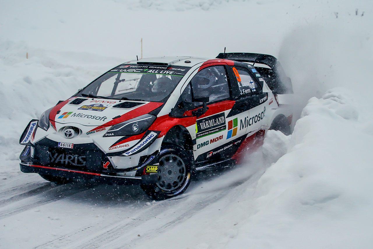 WRC:トヨタ、2017年以来のスウェーデン制覇なるか。ラトバラ最多出場数更新、4台目のヤリスも登場